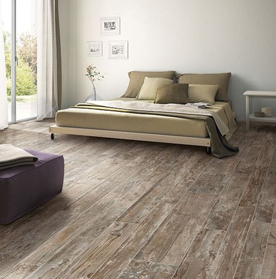... wood tile options like the Season Wood line for a weathered look