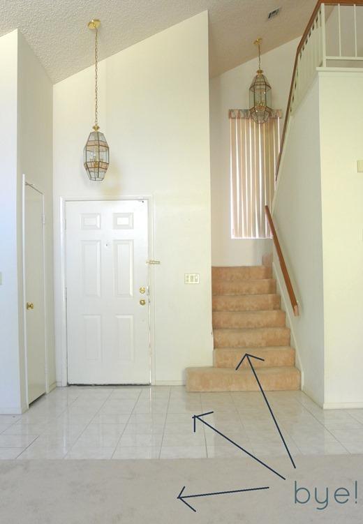 different flooring