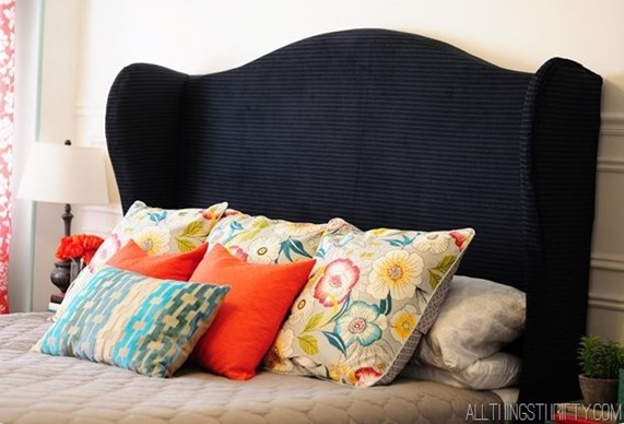 diy wingback headboard