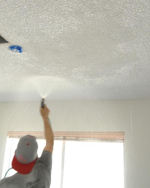 mist popcorn ceiling