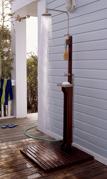 Thinking About... an Outdoor Shower | Centsational Girl