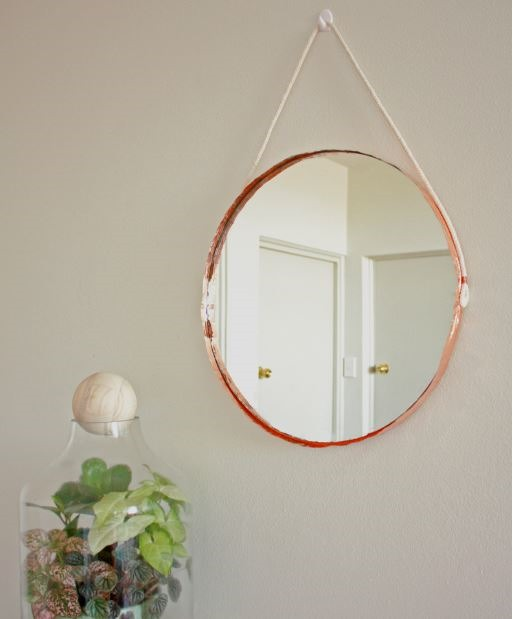 copper edge mirror