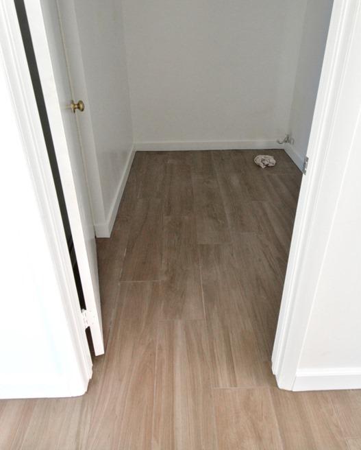 daltile in hall bathroom