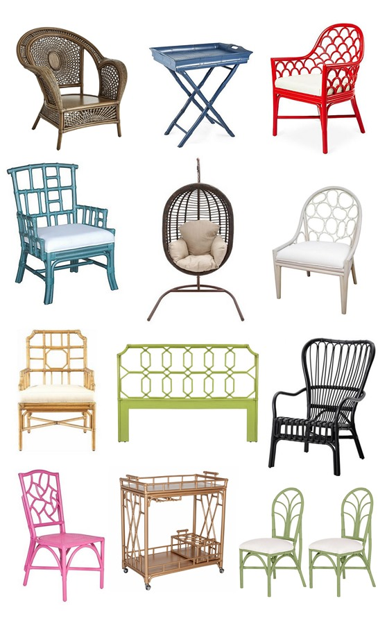 decorative rattan furniture