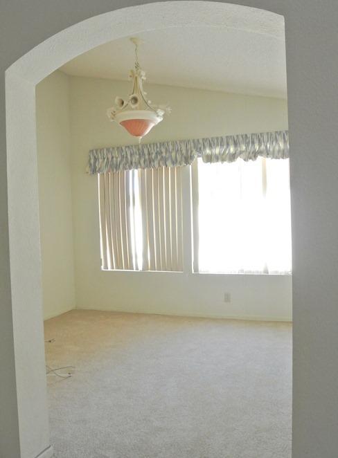 dining room sunroom before