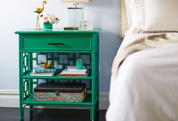 emerald nightstand