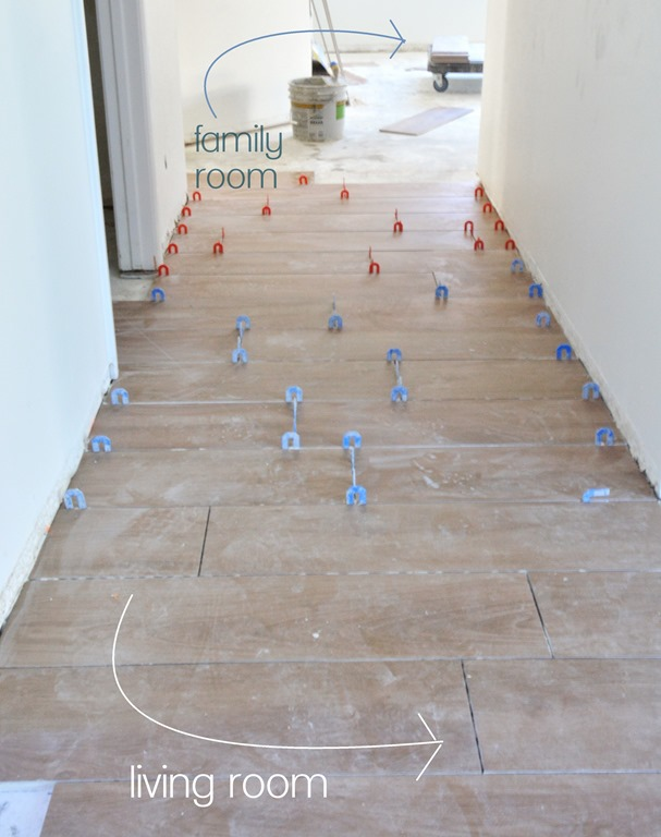 Tile Flooring Demo Installation Centsational Girl
