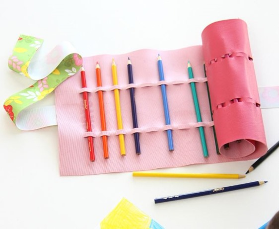 no sew pencil holder
