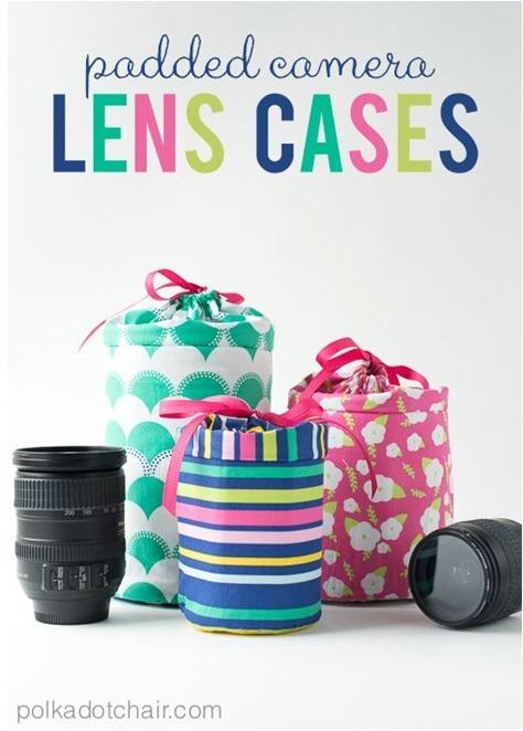 padded lens camera cases