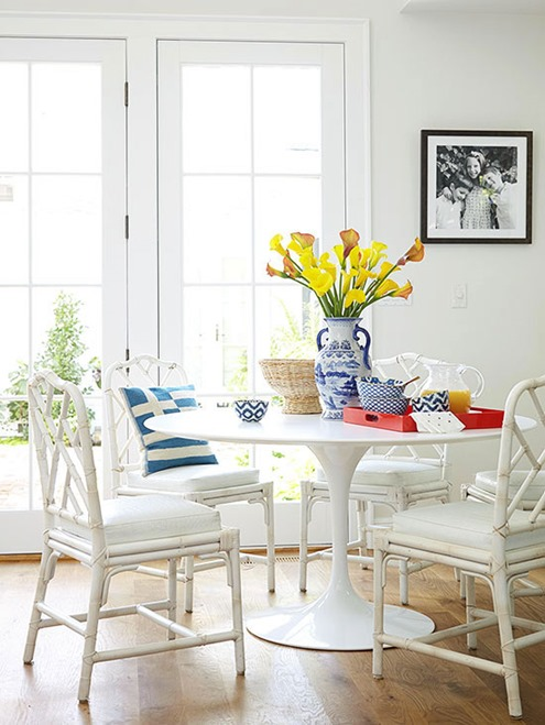 white rattan chairs bhg