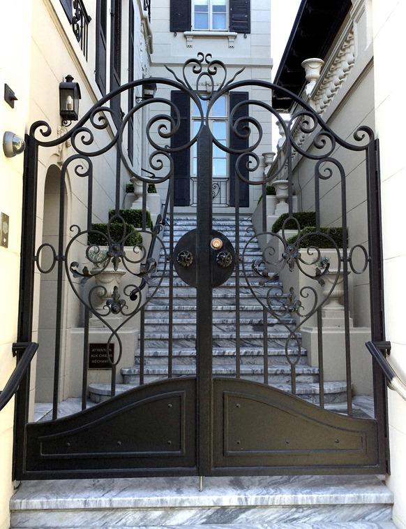 black iron gate san francisco