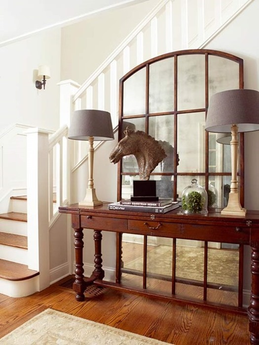 No Foyer Entry : No fail objects for styling a console table centsational