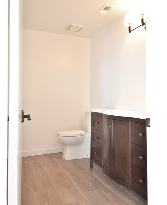 downstairs bathroom progress