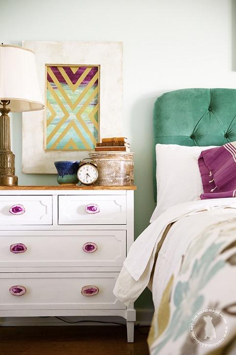 master bedroom handmade home