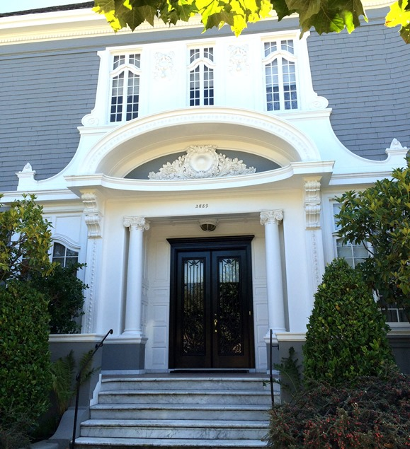 ornate pacific heights entry