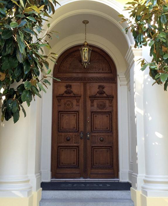 ornate wood doors san francisco