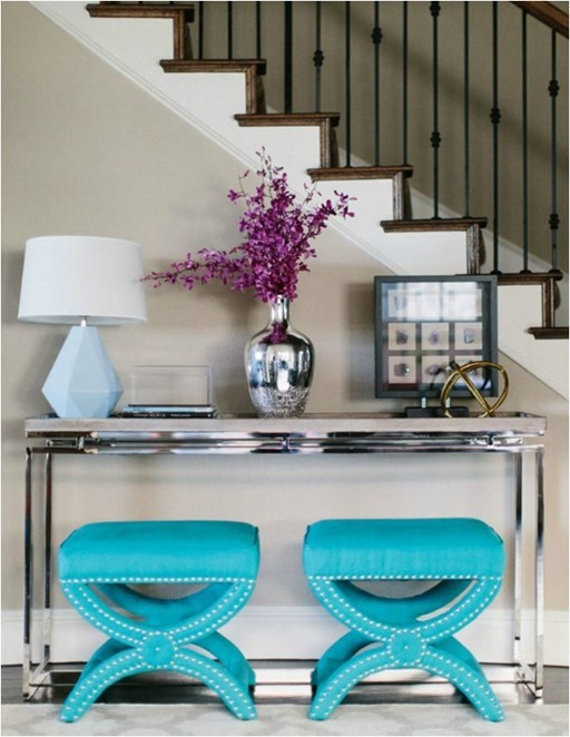 no fail objects for styling a console table
