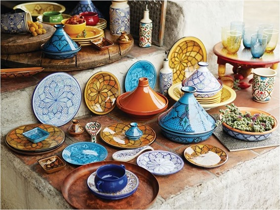world market desert caravan kitchen tableware