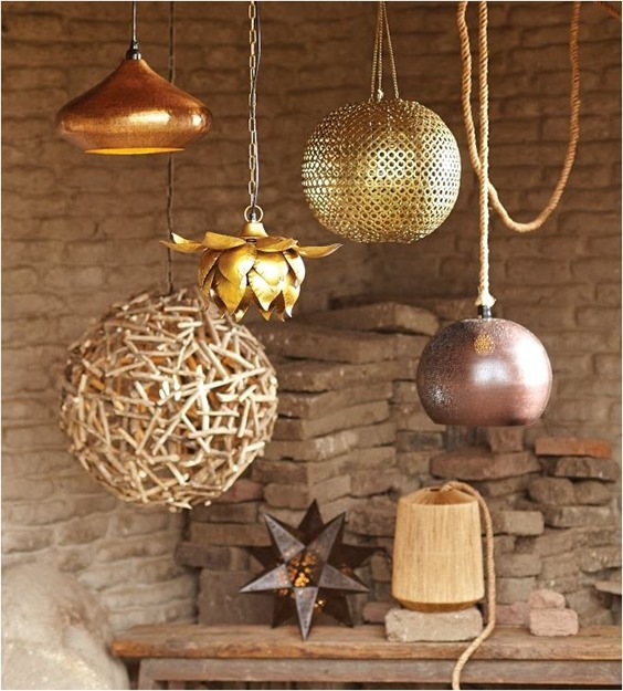 world market hanging lanterns
