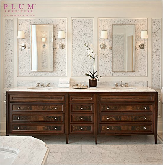 Master bathroom vanity makeover plans centsational girl - Astonishing image of bathroom decoration using dark vanity in small bathroom ...