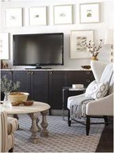design around tv