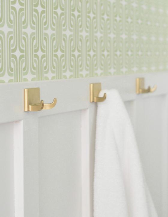 gold towel hooks