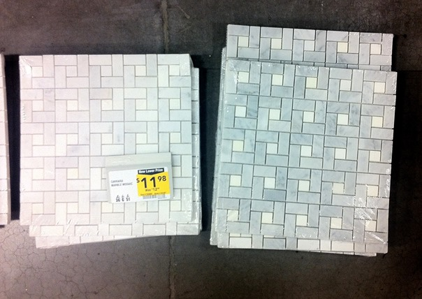 lowes mosaic tile