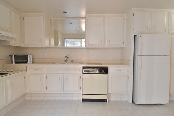 Kitchen Side View : Grandma s kitchen remodel cabinets fixtures