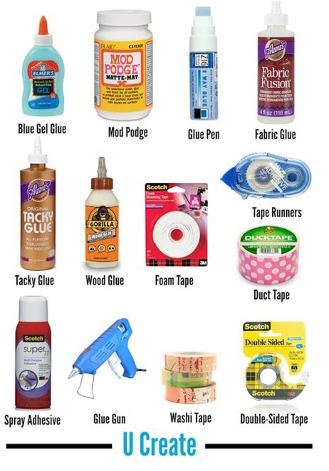 craft adhesives