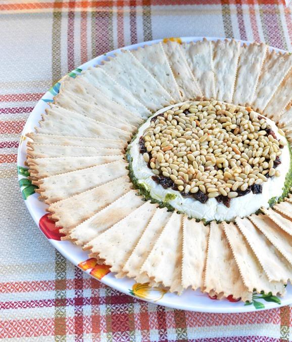 italian flag appetizer