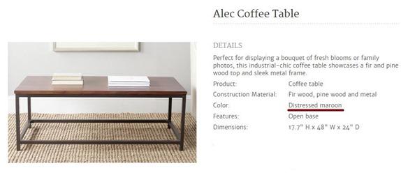 joss main coffee table