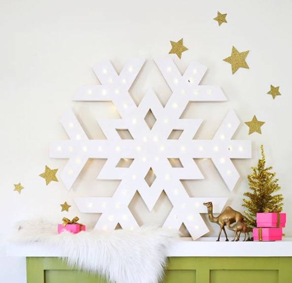 marquee snowflake