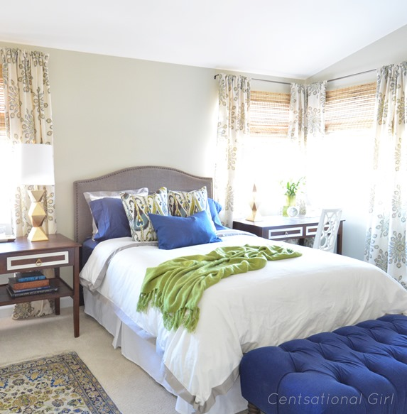 Finished Master Bedroom Fabric Giveaway Centsational Girl