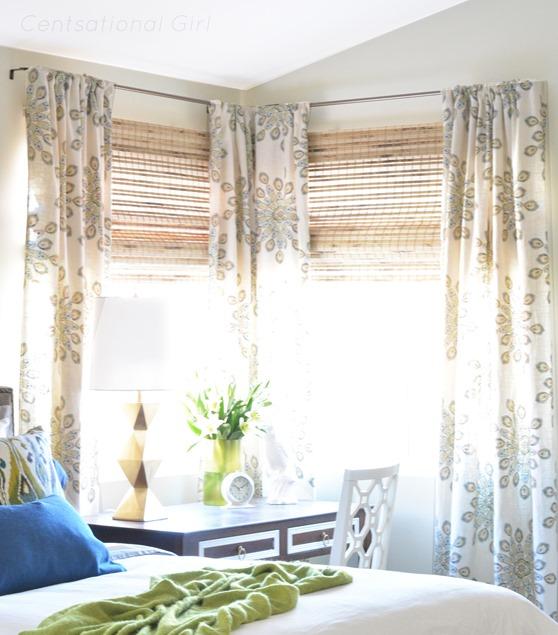 medallion pattern window panels
