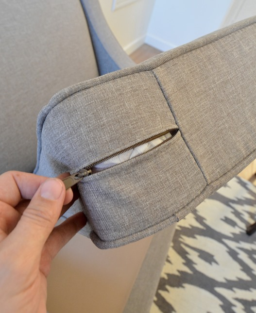 removeable slipcover