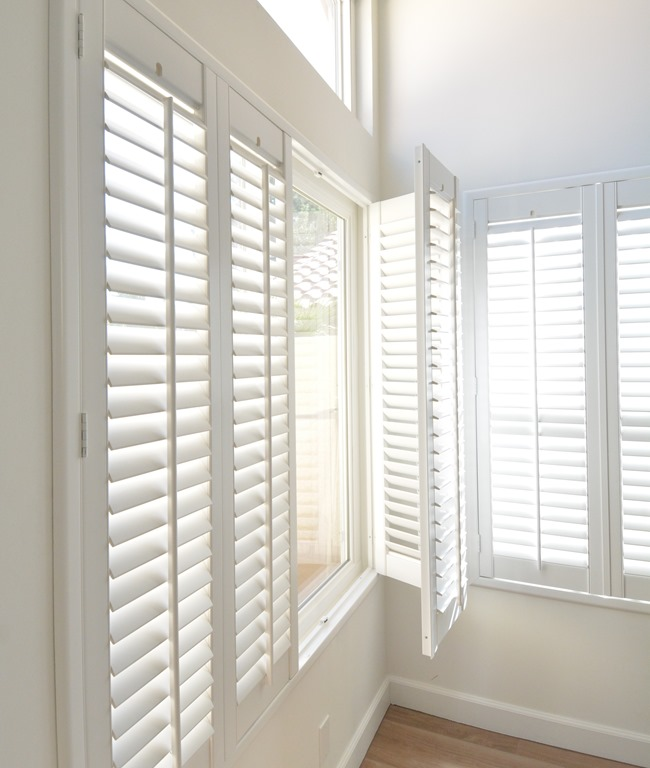 Pretty plantation shutters giveaway centsational style Smith and noble