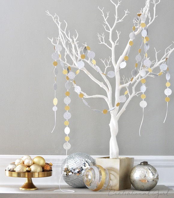 Pinterest Home Decor 2014: Sparkle Confetti Garlands