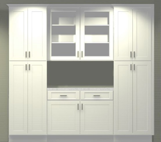 Kitchen Pantry Built In Cabinet