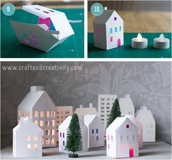 paper village luminary