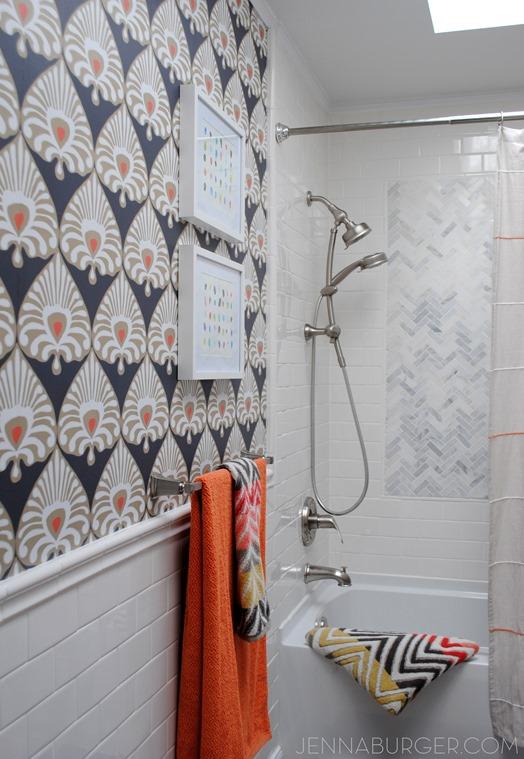 bathroom wallpaper jenna burger