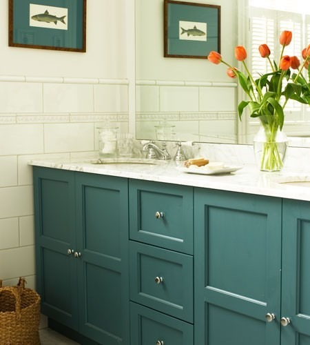 Five ways to update a bathroom centsational style for Updating a bathroom