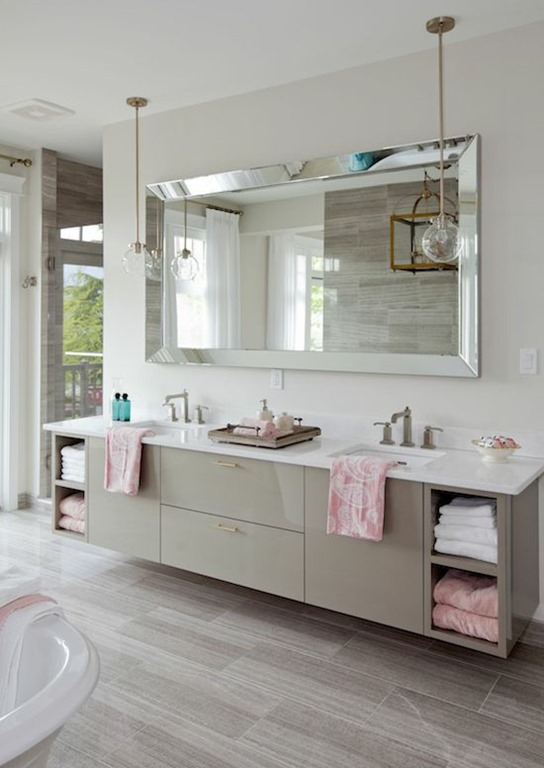 Large Bathroom Vanity Lights : Five Ways to Update a Bathroom Centsational Girl