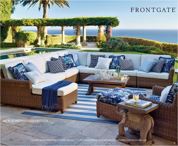 frontgate outdoor collection