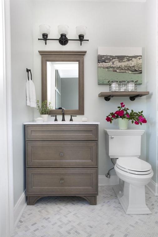 guest bathroom bower power