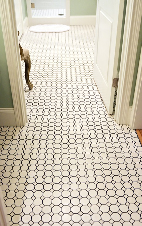Diy bathroom floor replacement - Five Ways To Update A Bathroom Centsational Girl