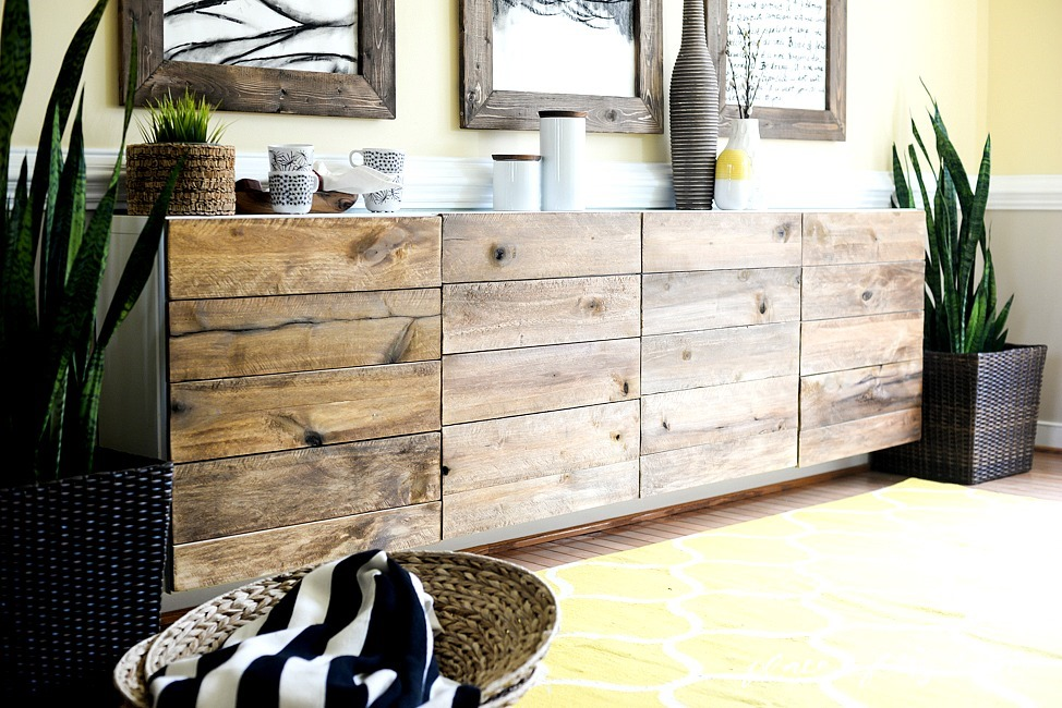 This Ikea Besta buffet hack by A Place of my Taste is so fab – she ...