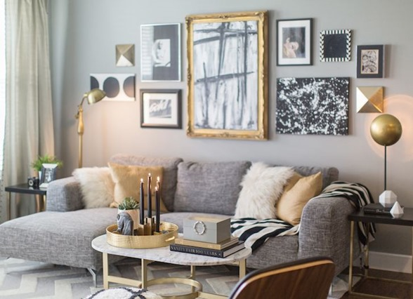 jessie miller coffee table styling