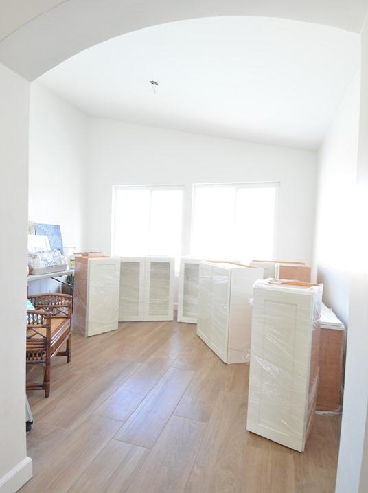 sunroom storage space