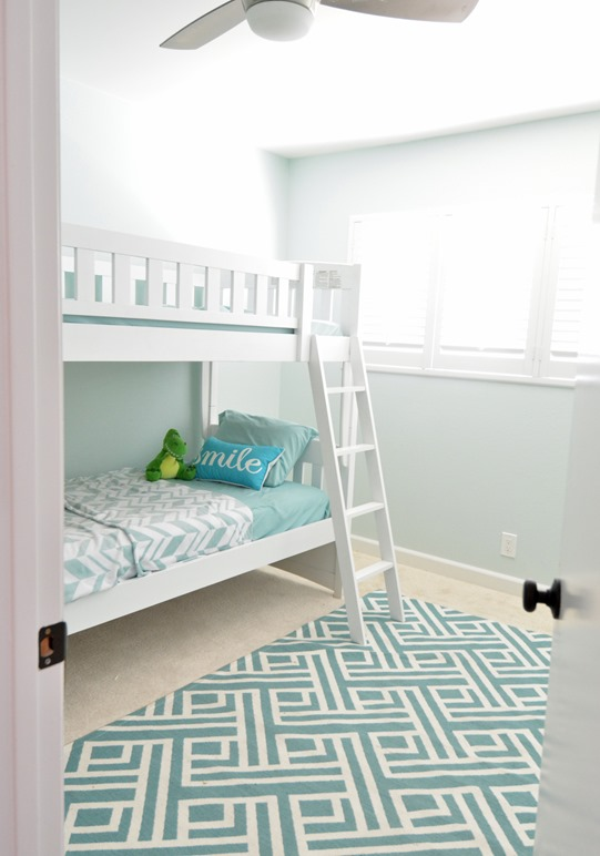 upstairs kids room