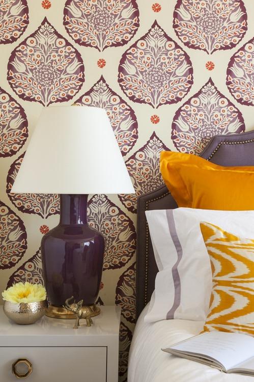 aubergine saffron bedroom grant gibson